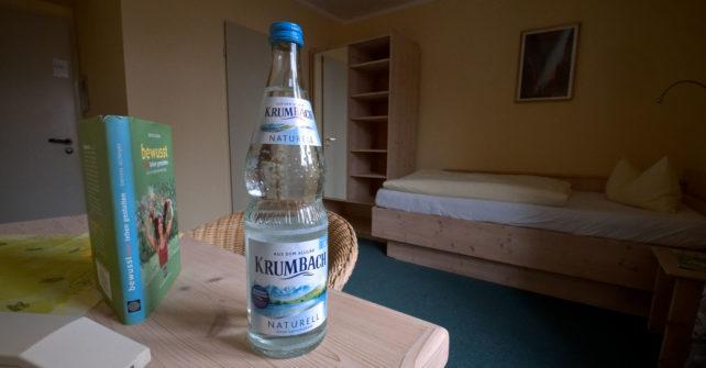 Ihre Wasserflasche aus Glas